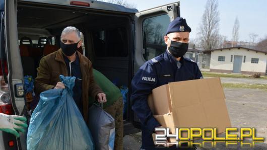 Komenda Wojewódzka Policji wspiera opolskie schronisko
