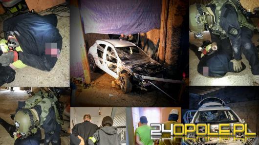 Akcja kontrterrostów z Opola. Złodzieje samochodów zatrzymani