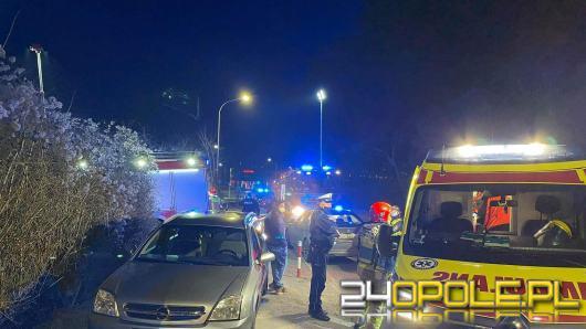 Pożar w garażach na Kępskiej. Jedna osoba nie żyje, dwie zostały ranne