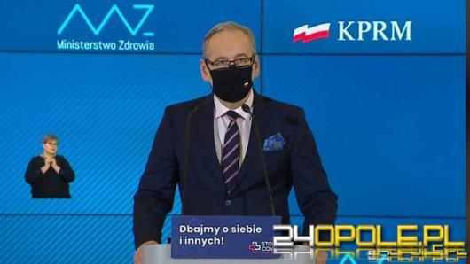 Minister Zdrowia: Namawiam do pozostania w domu i rezygnacji z aktywności na zewnątrz