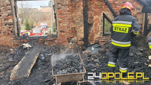Rodzina opiekująca się synem z zespołem Downa straciła dom w pożarze