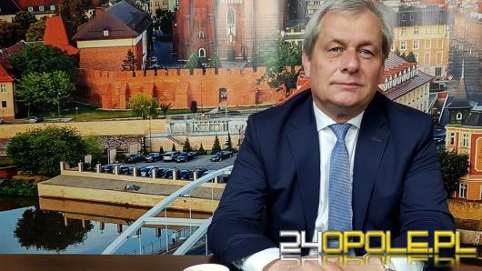 Zmiana na stanowisku wojewody opolskiego. Adrian Czubak złożył rezygnację
