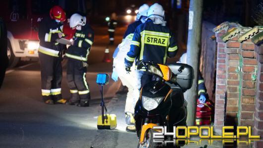 Niemal 2 promile alkoholu miał motorowerzysta który doprowadził do wypadku w Dziergowicach