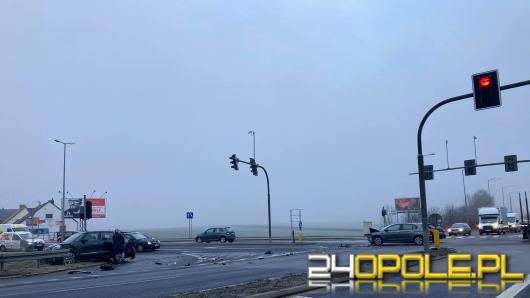 Niekorzystne warunki na drogach. Na Opolszczyźnie doszło do kilku kolizji