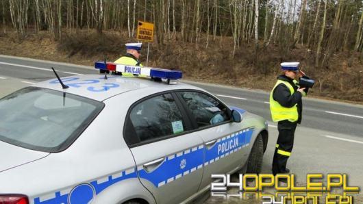 """Policjanci ruchu drogowego prowadzą działania kontrolno-prewencyjne pn. """"Prędkość"""""""
