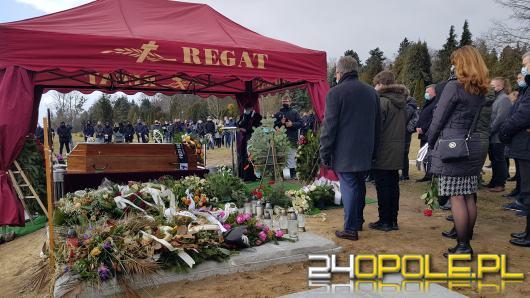 Rodzina, przyjaciele i sportowcy pożegnali tłumnie zmarłego Grzegorza Lachowicza