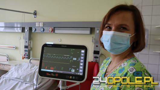 Najmłodsi pacjenci mogą korzystać z kolejnych darów WOŚP. Sprzęt trafił do USK w Opolu