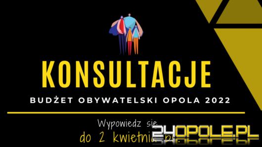 Rozpoczęły się konsultacje zmian w Budżecie Obywatelskim Opola