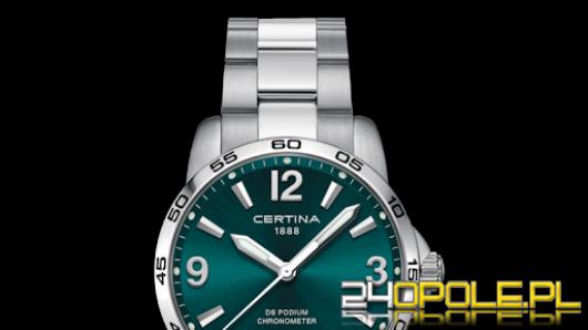 Kolor zielony modny również w zegarkach damskich i męskich