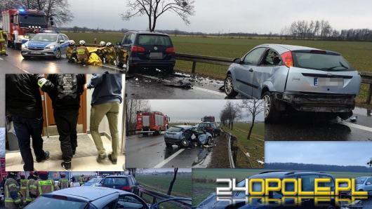 Podejrzany o spowodowanie wypadku na obwodnicy Brzegu, - zatrzymany