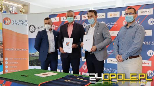 Uniwersytecki Szpital Kliniczny w Opolu partnerem medycznym OKS ODRA Opole