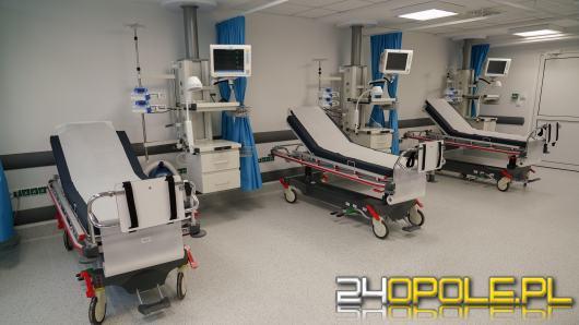 Więcej łóżek na odcinku ogólnym szpitala tymczasowego