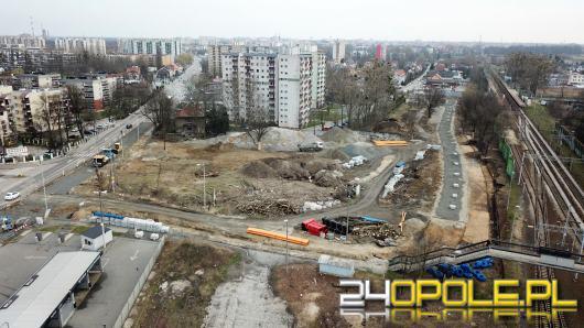 Centrum Przesiadkowe Opole-Zachodnie zostanie oddane do użytku jako pierwsze