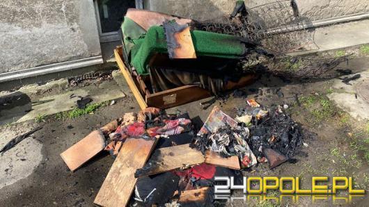 Tragiczny finał pożaru mieszkania w Nysie. Nie żyje mężczyzna