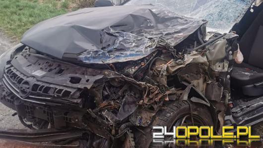 Jedna osoba została poszkodowana na DW 451 w powiecie namysłowskim. Doszło do kolizji