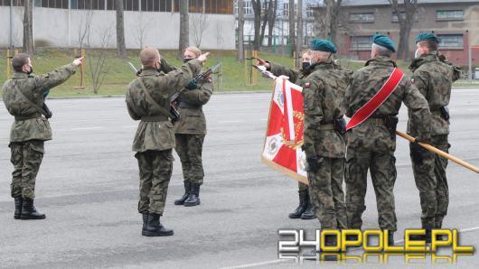 W 10 Brygadzie Logistycznej przysięgali na sztandar