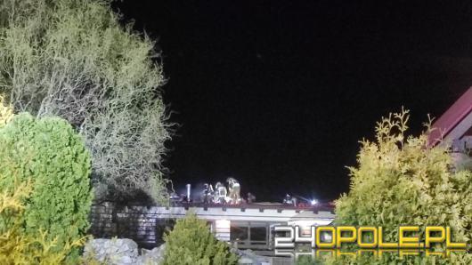 Pożar hotelu w Kuniowie. Ewakuowano gości