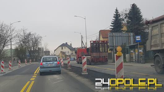 Zmiany dla kierowców w rejonie budowy Centrum Przesiadkowego Opole-Zachodnie