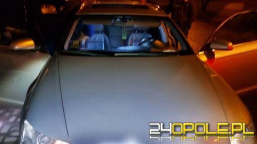 Kontrola drogowa i zabezpieczone narkotyki