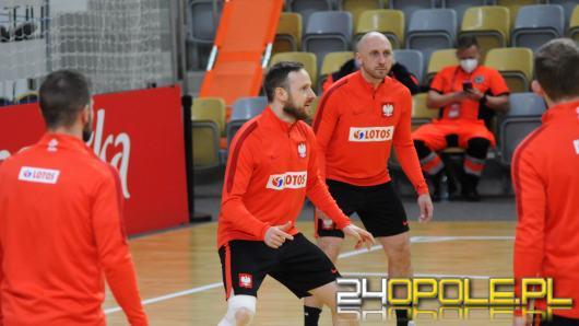 Reprezentacja Polski w Futsalu trenuje w Opolu - dziś ważny mecz