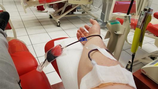 Dawcy krwi najczęściej pojawiają się w punkcie w czwartki