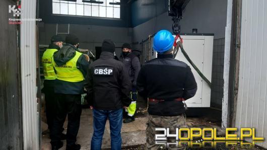 Zajęte przez KAS urządzenia z nielegalnej fabryki papierosów trafiły do opolskich szpitali
