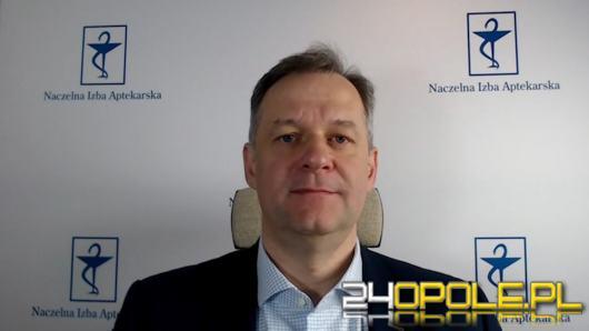 Marek Tomków - farmaceuci będą pracować w punktach szczepień