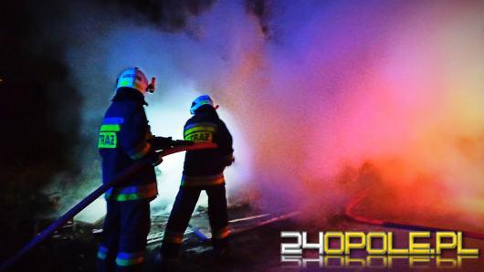 Pracowita doba opolskich strażaków