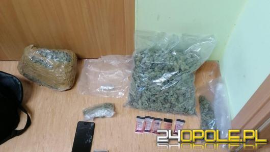 Ponad 3300 porcji marihuany u 25-latka. Wpadł podczas kontroli drogowej