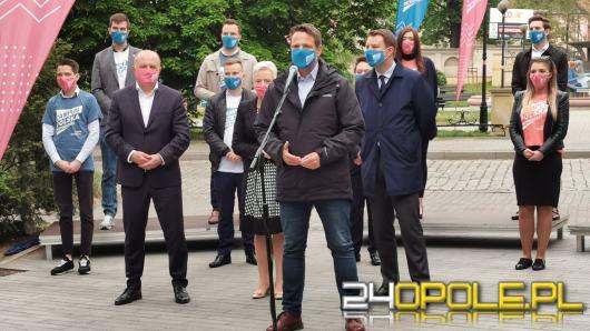 Rafał Trzaskowski w Opolu spotkał się z młodzieżą