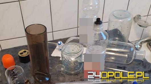 Policjanci zlikwidowali dwa laboratoria do produkcji narkotyków