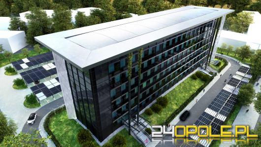 Politechnika Opolska ma pomysł na budynek Wydziału Inżynierii Produkcji i Logistyki