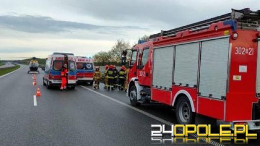 KMP Opole poszukuje świadków wypadku z autostrady A4