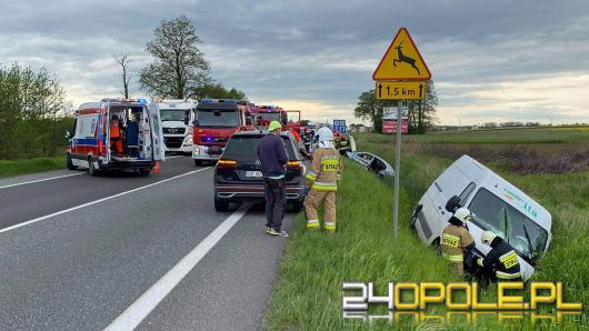 Cztery osoby ranne w wypadku w Opolu - Wrzoskach