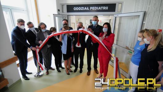 Oddział Pediatrii w Uniwersyteckim Szpitalu Klinicznym w Opolu zmodernizowany