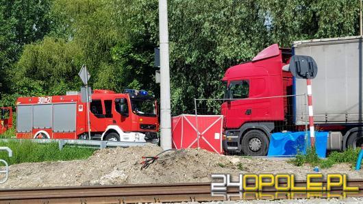 Tragedia na przejeździe kolejowym w Opolu. Nie żyje rowerzysta