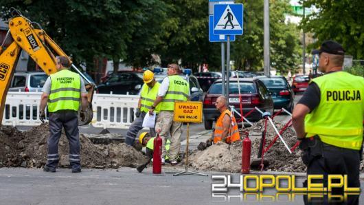 Ewakuacja w Krapkowicach. Uszkodzono gazociąg niskiego ciśnienia