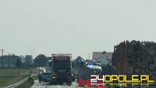 Tragedia na drodze w powiecie strzeleckim. Nie żyje kierowca jednośladu