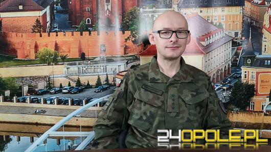 Kpt. Piotr Płuciennik - opolscy logistycy jako ostatni wrócą z Afganistanu