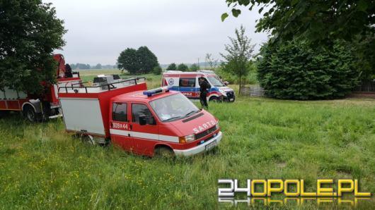 Wypadek w Ligocie Prószkowskiej. Zginął nastoletni motocyklista