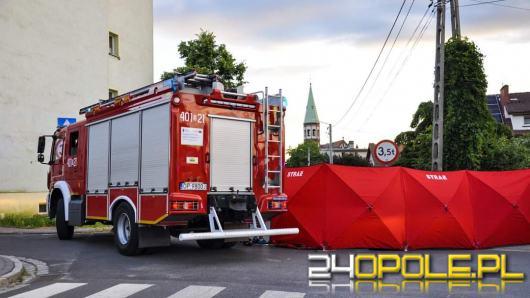 Wypadek w Lewinie Brzeskim. Reanimowano motocyklistę