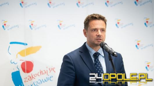Trzaskowski kontra Tusk. Prezydent Warszawy zabrał głos
