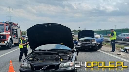 Zderzenie kilku pojazdów na 209 km autostrady A4. Lądował śmigłowiec LPR