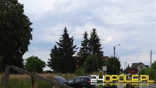 Niebezpieczny rajd pijanego kierowcy i pasażera w Krzyżanowicach