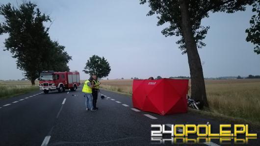 Tragedia na DK 88 w Strzelcach Opolskich - motocyklista zginął na miejscu