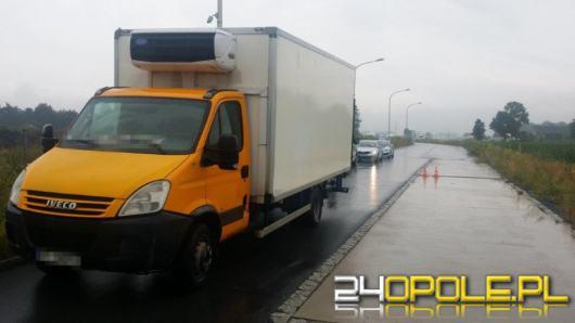WITD zatrzymało do rutynowej kontroli ciężarówkę. Kierowca z promilem alkoholu