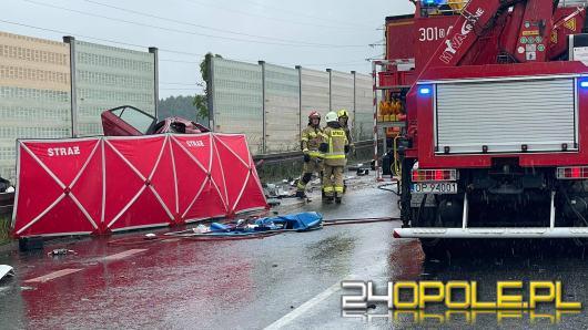 Wypadek na obwodnicy Opola. Są ofiary śmiertelne