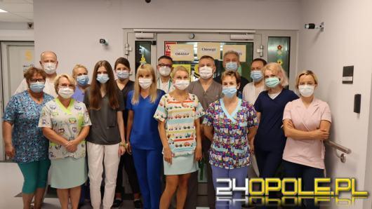W ciągu roku hospitalizowanych jest na nim ok. 2 tys. pacjentów, pomaga najmłodszym od 65 lat