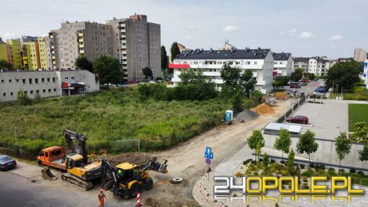 Ruszyła budowa nowej drogi łączącej ulice Bielską z Sieradzką