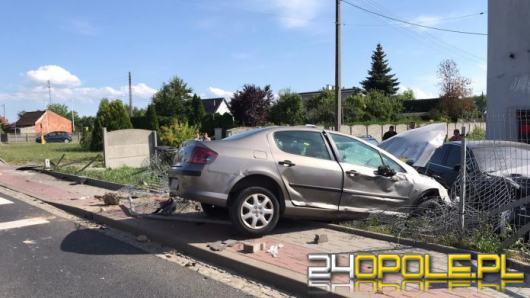 Wypadek na DK 94 w miejscowości Skorogoszcz